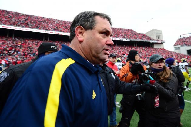 Hoke Brushes off Ditching Postgame Handshake