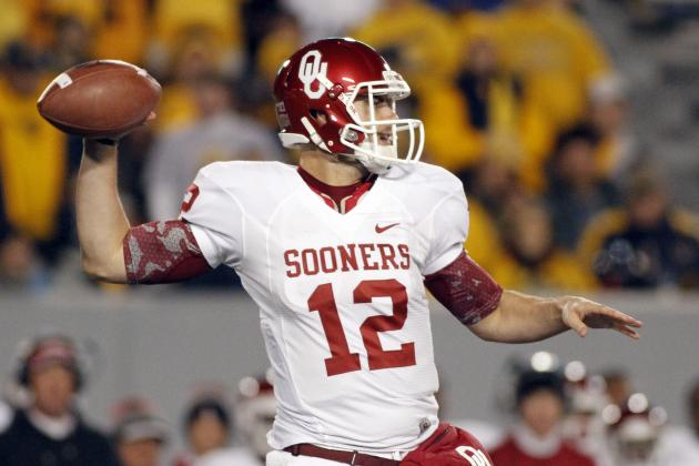 Landry Jones Becomes All-Time Leading Passer in Big 12 History