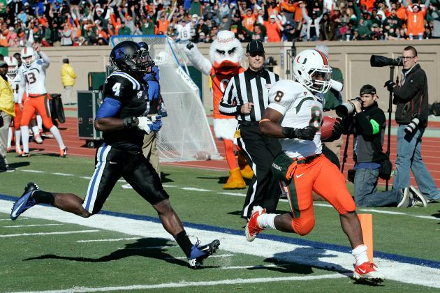 Duke Johnson: Miami Has Very Bright Future with Record Setting Freshman RB