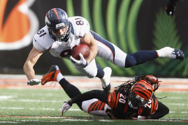 Broncos Quarterback Peyton Manning Utilizing Talented Tight Ends