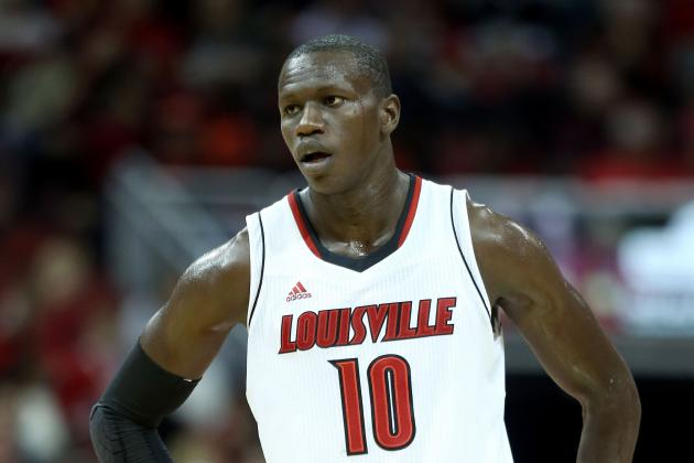 Louisville's Gorgui Dieng to Miss Duke Matchup with Wrist Injury