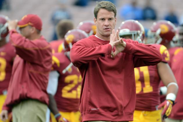 Lane Kiffin: USC Coach Should Not Lose Job After Pitiful 2012 Season