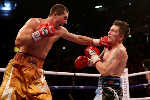 Ricky Hatton KO'd in 9th Round by Viacheslav Senchenko