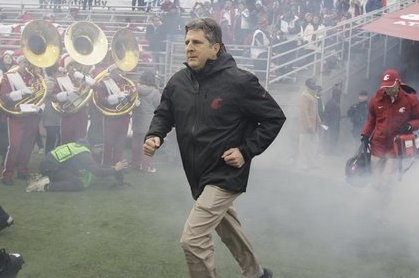 Mike Leach Reportedly Uses a $25,000 Apple Cup Bonus to Buy Drinks for Fans