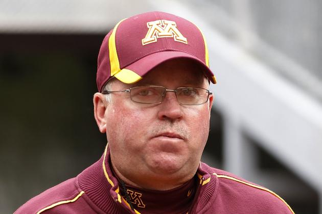 Gophers Coach Kill Not on Sideline for 2nd Half