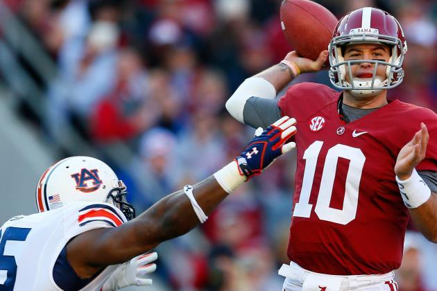McCarron-Led Alabama Steamrolls Rival Auburn