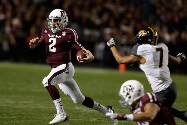 Tim Tebow Is Passed in the Record Books by Johnny Football of Texas A&M