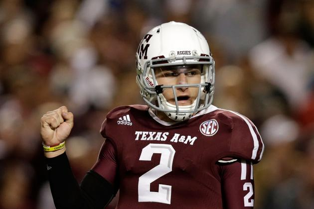 Manziel Breaks SEC Record for Total Yds in 1 Season