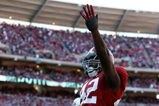 Tide's Eddie Lacy Shrugs off Breaking the 1,000-Yard Rushing Mark