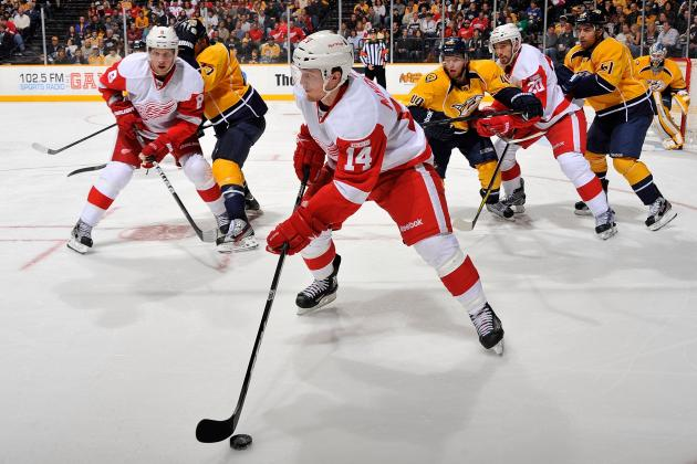 Detroit Red Wings: Prospect Nyquist Continues Hot Start, Tvrdoň Done for Season