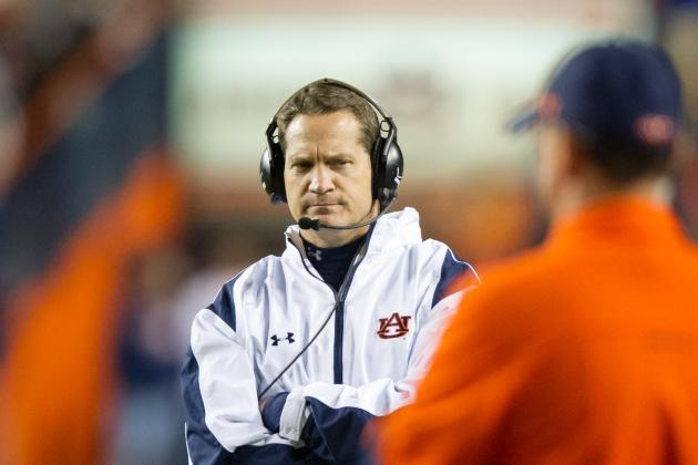 Gene Chizik: 'It's Not About Me'; Calls Iron Bowl Loss 'Embarrassing'