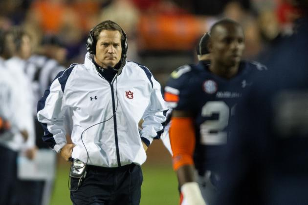 Auburn Football: Gene Chizik Basically Throws in the Towel in Postgame Presser