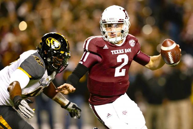 Heisman Candidates 2012: SEC Yardage Record Seals Award for Johnny Manziel