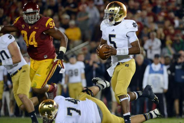 Everett Golson Injury: Updates on Notre Dame QB's Leg
