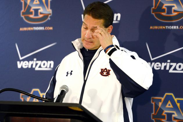 Auburn Football: Why There Is No Excuse for Gene Chizik to Be Employed on Sunday
