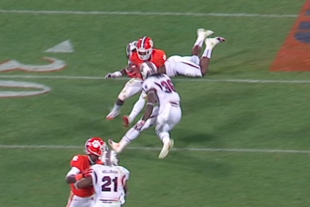 South Carolina vs. Clemson: Monster Hit in Rivalry Game