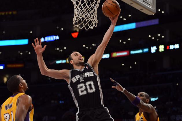 Ginobili Finding His Groove, Now Searching for Some Consistency