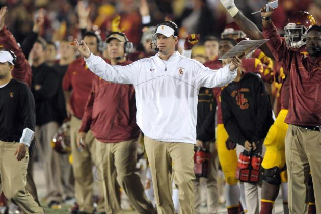 Notre Dame vs. USC: Is Lane Kiffin's Recruiting Ability Saving His Job?