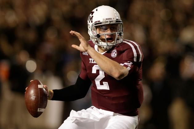 Texas A&M Football: Freshman QB Johnny Manziel Most Deserving Heisman Candidate