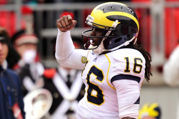 Robinson Sets School TD Record in Loss at No. 4 Ohio State