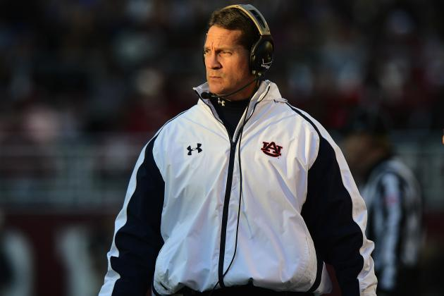 Auburn Football: Why Gene Chizik Left Auburn with No Other Choice