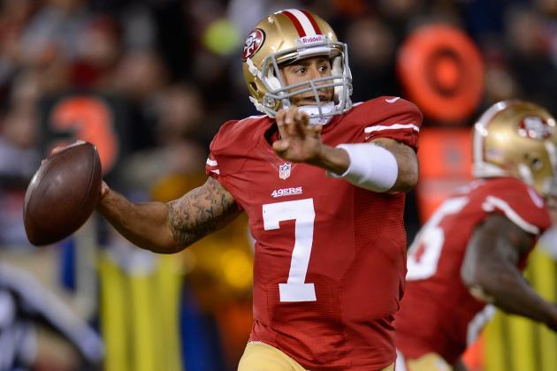 Colin Kaepernick: Fantasy Expectations for 49ers QB in Week 12 Start vs. Saints