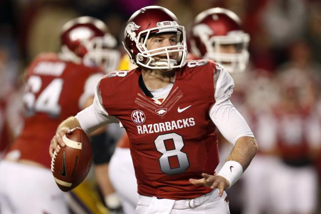 Arkansas Football: Should Tyler Wilson Have Gone to the NFL Last Year?