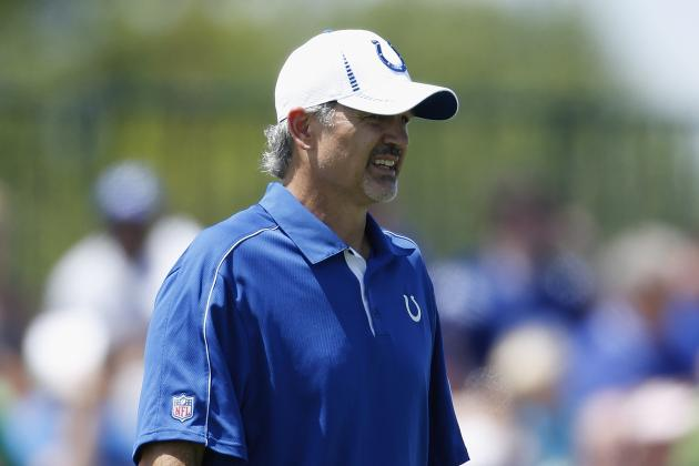 Colts Coach Chuck Pagano Will Attend Today's Game vs. Bills