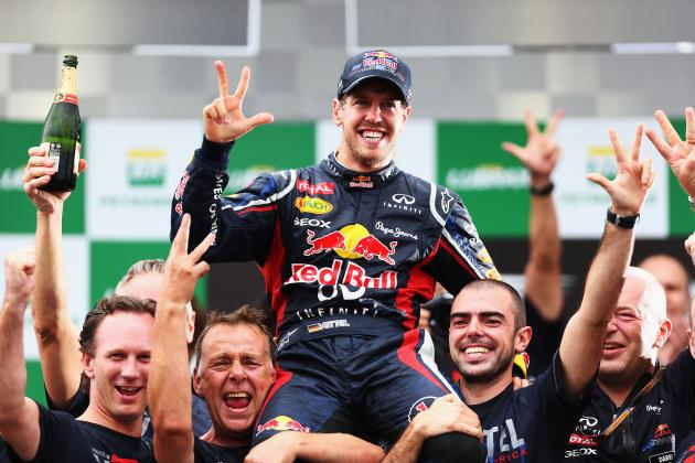 Vettel Calls Dramatic Title Win 'Unbelievable' After His 'Most Difficult Race'