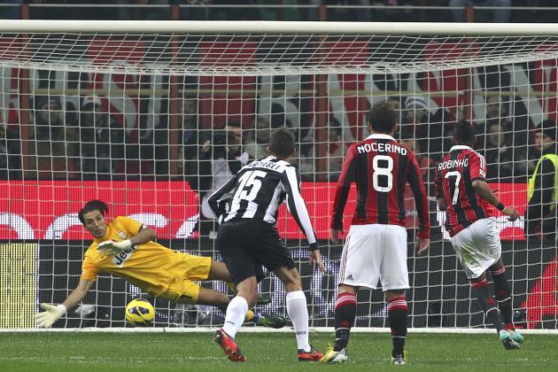 Live: AC Milan 1-0 Juventus
