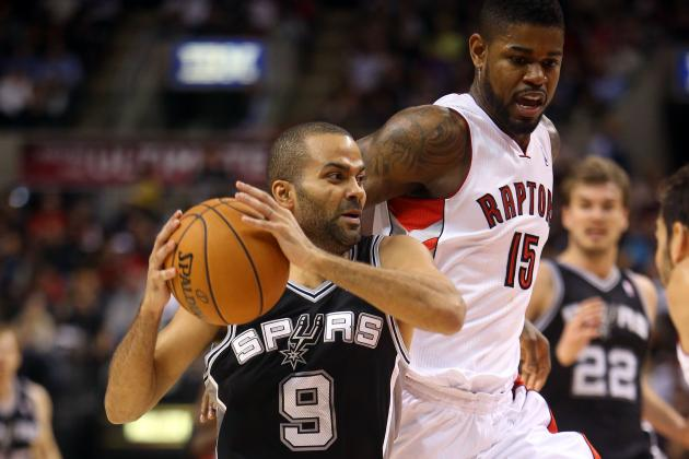 NBA Gamecast: Spurs vs. Raptors