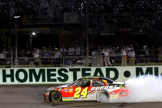 Why Jeff Gordon's Win at Homestead Bodes Well for the No. 24 Car in 2013