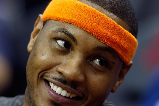 Melo Fired Up for First Game in Brooklyn