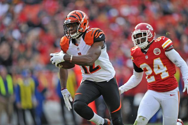 Mohamed Sanu: Bengals WR a Must-Start for Fantasy Owners Down the Stretch