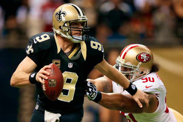 Week 12 NFL Live: 49ers vs. Saints, Packers vs. Giants and More