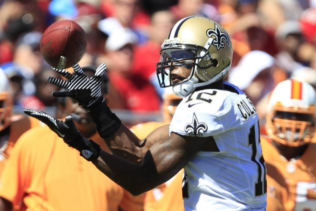 Marques Colston Sets Franchise Record with 56 TDs