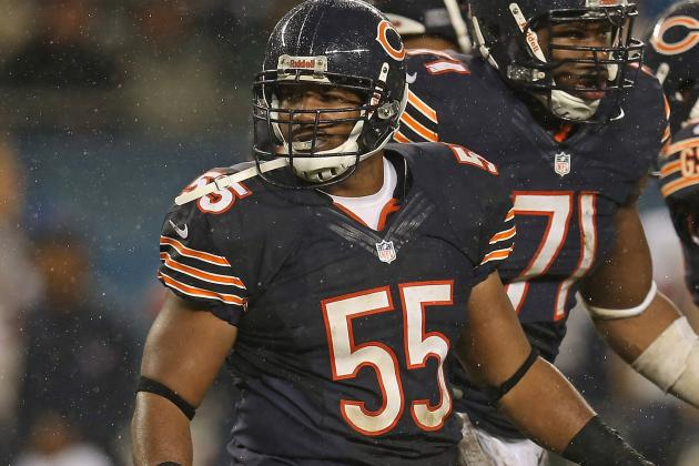 Lance Briggs Injury: Updates on Bears LB's Foot