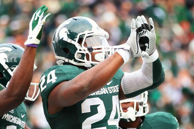 If Michigan State's Le'Veon Bell Is Done with Big Ten, He Made His Mark