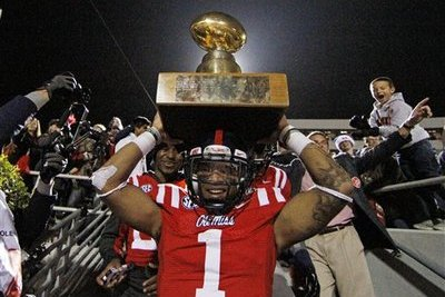 Ole Miss Ends Losing Skid in Egg Bowl