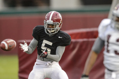 Alabama Will 'Revisit' Decision to Redshirt WR Chris Black