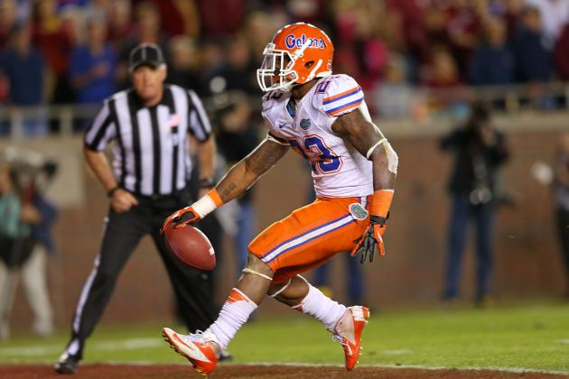 Gillislee and the Gators Rushing Attack Eventually Wears Seminoles Down