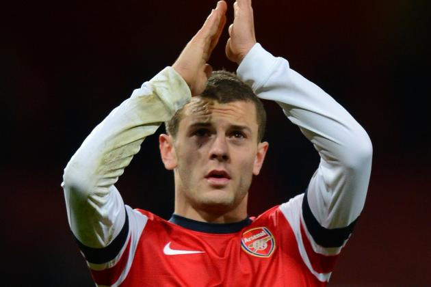 Jack Wilshere Has Inflamed Ankle but It Is Only Minor According to Wenger