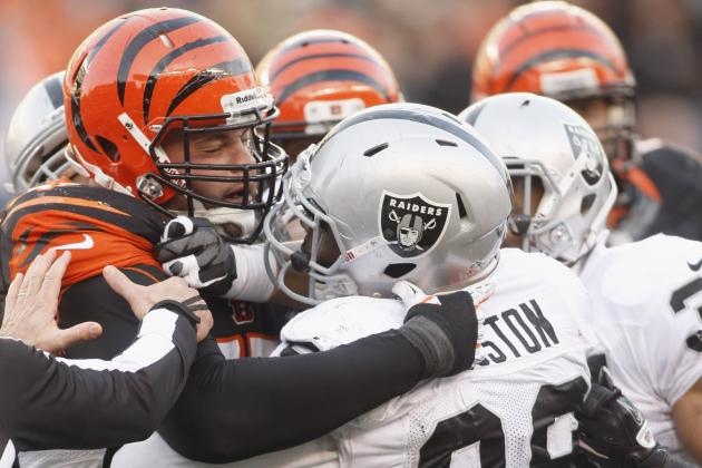 Bengals and Raiders Brawl Following Referee Missed Call