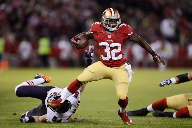 Kendall Hunter Injury: Updates on 49ers RB's Achilles  Injury