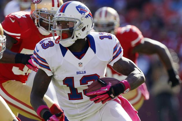 Stevie Johnson Lobbies for Chan Gailey to Give Up Play-Calling