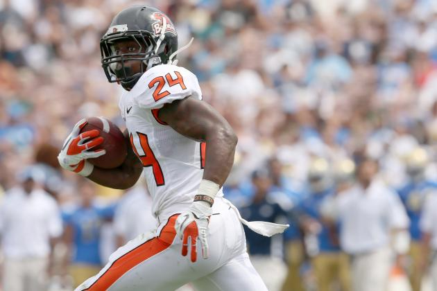 Oregon State Football: Playmakers Who Should Make Beavers Optimistic About 2013