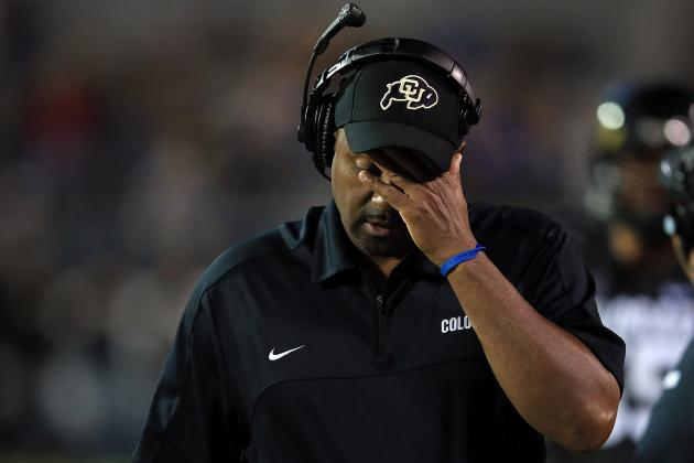 Jon Embree Fired as Colorado Head Coach