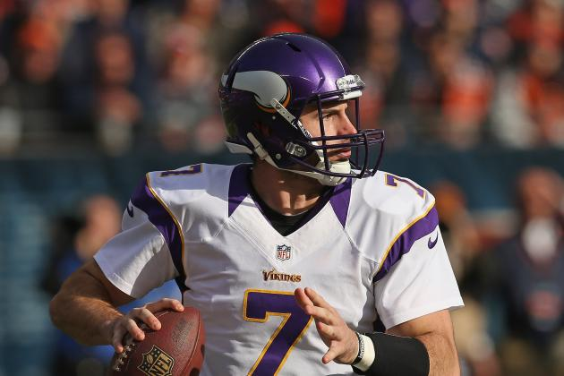 Vikings' Christian Ponder Takes Blame for Passing Game
