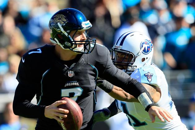 Chad Henne: There Is No Question Who the Jaguars' Quarterback Will Be in 2013