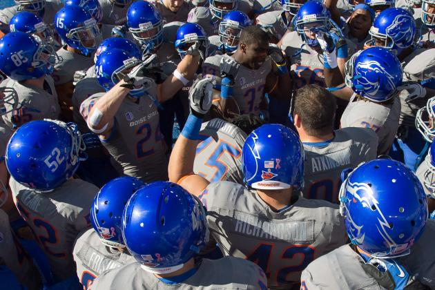 Boise State Football: Broncos Only Climb 2 Spots in the BCS